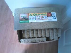 "Grodan A-Ok Starting plugs for seeds / cuttings 1.5""X1.5"" 98 pac"