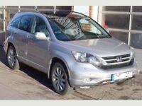 2011 Honda CRV 2..2 EX iDTEC Diesel - 1 Owner - Full Honda Service History - Very High Spec