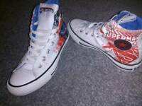Limited Edition Superman Converse Size 4