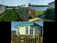 Static caravan to rent at the beautiful 7 lakes country park