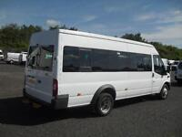 2013 FORD TRANSIT 430 TDCI 135 LWB MEDIUM ROOF 17 SEAT BUS MINIBUS DIESEL