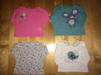 Lot of 37 girls clothing 3-6 months