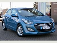 Extremely Well Cared For 2013 i30 Active Blue drive 1.6 Diesel 5 Dr Hatch HPI Clear Low Tax 65+ MPG
