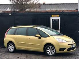 CITROEN C4 GRAND PICASSO 1.6 HDi VTR+ + 7 SEATER + DIESEL + LOW 77K MILES +