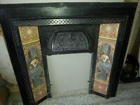 Cast Iron Fireplace surround...Excellent condition