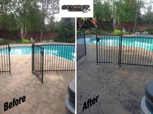 Stamped Concrete Resealing / Restoration And More! London Ontario image 9