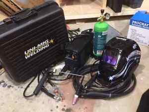 Unimig stick/tig welder Bow Bowing Campbelltown Area Preview