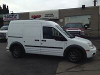 2012 Ford Transit Connect XLT. loaded. shelving available!!
