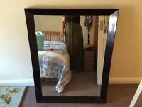 Beautiful large good quality full and wall mirrors in excellent condition