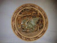 Impressive DRAGON WALL PLAQUE. Only one ever made. 5 feet circumference!