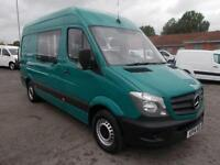 Mercedes-Benz Sprinter 3.5T Van DIESEL MANUAL GREEN (2014)