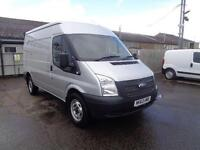 Ford Transit Medium Roof Van Tdci 100Ps Euro 5 DIESEL MANUAL SILVER (2013)
