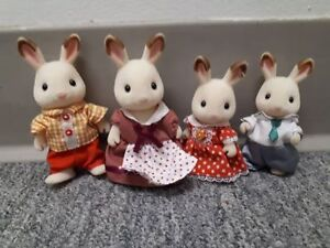 Figurines Calico Critters famille de lapin