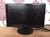 AOC 18inch computer monitor
