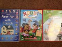 Noddy DVD learn French and the tigger movie DVD