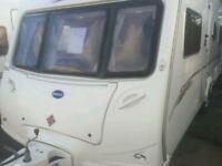Bailey senator indianna 2007 fixed bed touring caravan