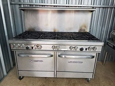 No Shipping South Bend 4601ad Commercial Nat Gas 10 Burner Stoverange W2 Ovens