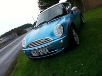 55 PLATE MINI ONE SPECIAL EDITION, 11 MONTHS M.O.T FULL SERVICE HISTORY