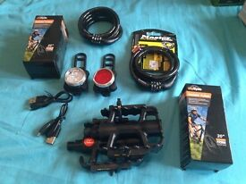 Bicycle accessories bundle all items new £20 the lot