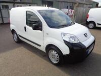 Peugeot Bipper 1.4 HDI 70BHP S VAN DIESEL MANUAL WHITE (2013)
