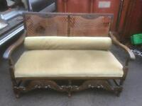 Old French sofa