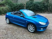 THE ONLY 2004 Peugeot 206cc Convertible 1.4 Manual With 12 Month MOT PX Welcome