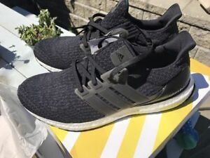 Adidas Ultra Boost 3.0 Black and Navy - Sz 11 and 11 (Deadstock