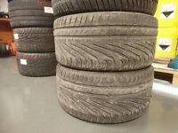 Uniroyal Rainsport 3 255x35 R18 tyres pari no rapairs 4,5mm