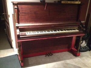 Piano droit Gerhard Heintzman Limited 1900 upright piano