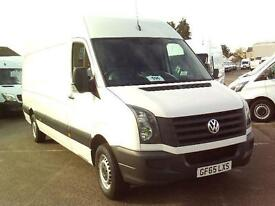 Volkswagen Crafter CR35 LWB STARTLINE TDI 136PS DIESEL MANUAL WHITE (2015)