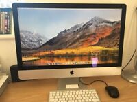 "iMac 27"" 5k (late 2015) with Apple keyboard, Apple remote, NO mouse"