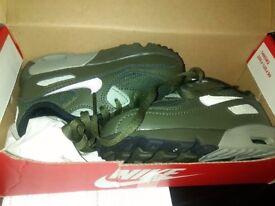 Infant 7.5 Nike Air Max Mesh Cargo Khaki/Light Bone