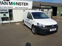 Volkswagen Caddy 1.6 TDI 102P VAN DIESEL MANUAL WHITE (2012)