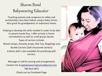 Babywearing Lessons