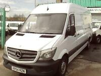 Mercedes-Benz Sprinter 313cdi lwb High Roof Van 130ps New Shape DIESEL (2014)