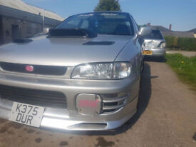 impreza version 1 wrx modified limited edition number 52/200