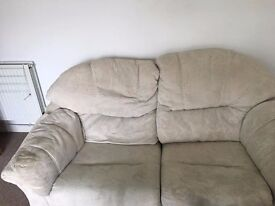 Sofas for sale.
