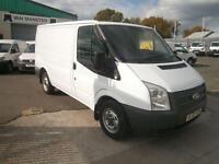 Ford Transit T280 swb Low Roof Van 100ps DIESEL MANUAL WHITE (2012)