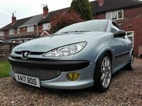Peugeot 206 GTI 140 / Track Car Project