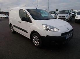 Peugeot Partner 850 1.6 Hdi 92 Professional Van DIESEL MANUAL WHITE (2014)