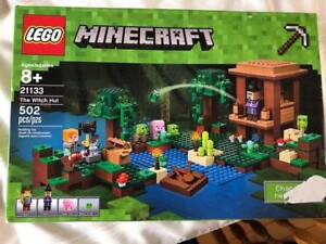 Opened and new set of Lego