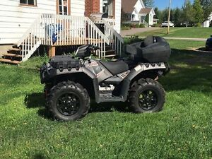 Polaris Sportsman 850SP EPS edition titanium