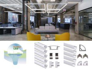 Aluminium Profiles 46'/96' for LED Light!Recessed!Fixture!Cove!