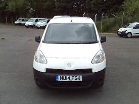 Peugeot Partner L1 850 S 1.6 HDI 92bhp Van DIESEL MANUAL WHITE (2014)