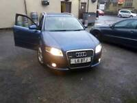 Audi a4 1.9tdi s line 6 month Mot starts first timr