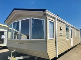 CARAVAN FOR SALE - DOUBLE GLAZED, CENTRAL HEATED - IMMACULATE THROUGHOUT