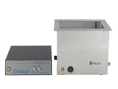 New Sonicor 13 Gallon Industrial Ultrasonic Cleaner With Heat