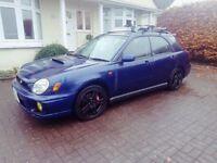 Subaru Impreza WRX Wagon 2002 Low Mileage Bugeye
