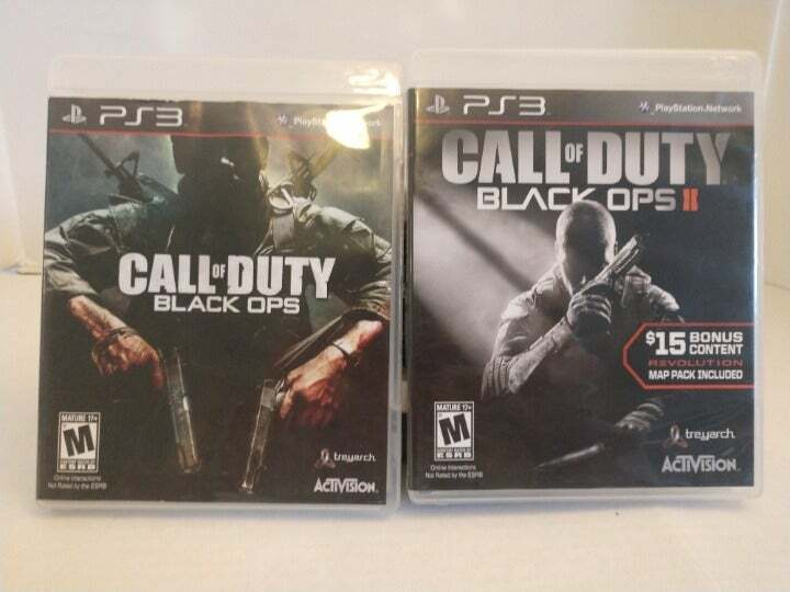 PS3 Call Of Duty Black Ops 1 2 - $21.00
