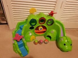 Fisher Price Dragon rolla ball toy